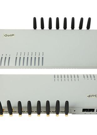 VoIP GSM шлюз GoIP 8 каналов SIP H.323