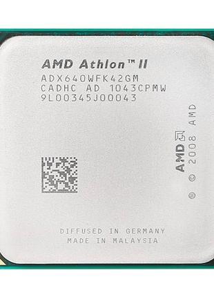 Процессор AMD Athlon II X4 640, 4 ядра, 3ГГц, AM2+, AM3