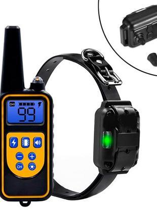 Ошейник электронный для дрессировки собак с пультом ДУ DTC-800