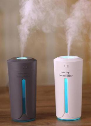Увлажнитель, очиститель воздуха ультразвуковой с подсветкой, 2...