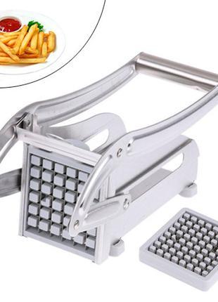 Машинка для нарезки картофеля фри соломкой, картофелерезка руч...