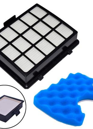 Фильтр HEPA DJ97-00492A для пылесосов Samsung + поролоновый по...