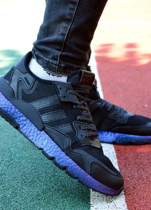 Кроссовки Adidas Nite Jogger Black Hameleon