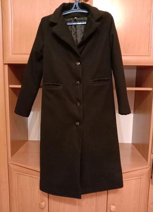 Осенние кашемировое пальто