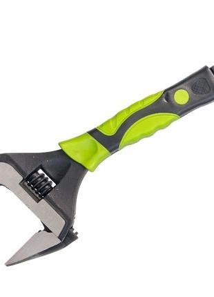 Ключ разводной с тонкими губками, 250 мм, развод губок 50мм, Cr-V