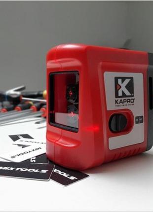 Лазерный уровень Kapro 862,строит горизонтальную и вертикальну...
