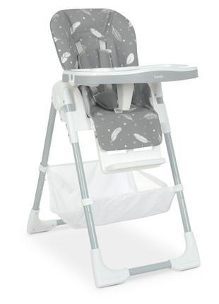 Стульчик M 4507 Fluffy Gray для кормления , столик выдвижной ,...