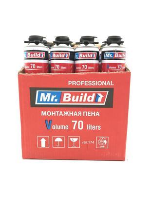 Ящик монтажной пены профессиональной Mr. Build 850ml 70л. (12 ...