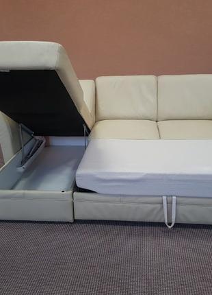 Бесплатная Доставка! Шкіряний куток шкіряний диван кожаный диван