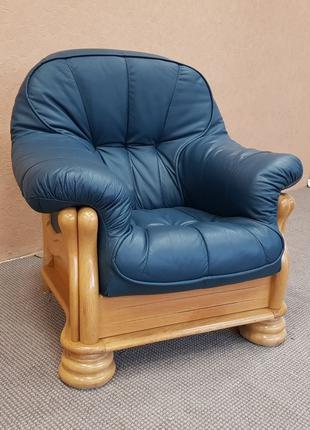 Шкіряне крісло кожаная мебель мягкая мебель