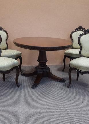 Стіл столовий, + 4 стільці, стол гостевой 4 стула