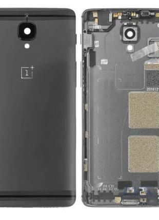 Задняя крышка для OnePlus 3 (A3003)/Oneplus 3T A3010, черная, ...