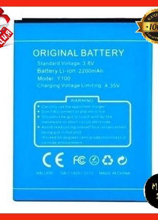 Аккумулятор оригинал (батарея) для Doogee Y100 Valencia 2 2000...