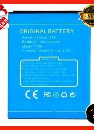 Аккумулятор оригинал (батарея) для Doogee Y100 Plus для телефона
