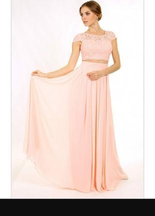 Enigma Store G 2188 Платье вечернее в виде топа и юбки(без бірки)