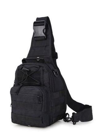 Тактический однолямочный рюкзак, сумка тактическая через плече...