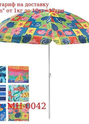 Зонт пляжный d2.4м MH-0042 (12шт)