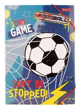 Папка для праці А4 картонна Team football 1 Вересня