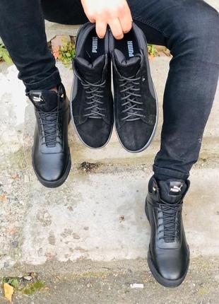 Lux обувь! крутые зимние мужские ботинки 🥾