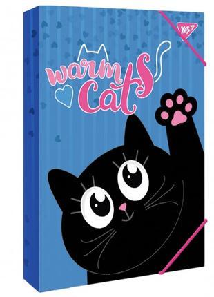 """Папка для праці картонна А4 """"Meow"""" Yes"""