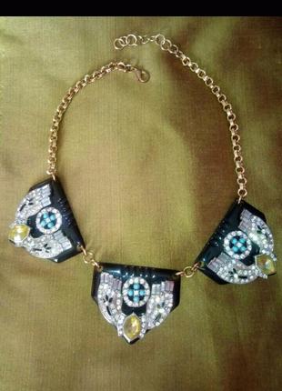 Этническое колье, ожерелье