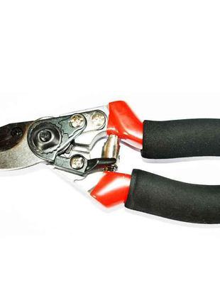 Секатор 215 мм косий зріз d=20 мм,прорез.руч.71-005 ТМ TECHNICS