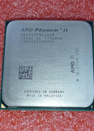 Процессор AMD Phenom II X4 955 Black Edition 3,2GHz sAM2+/AM3