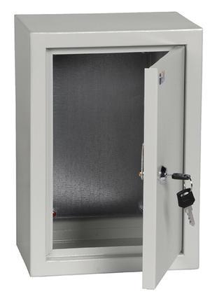 Корпус металлический IEK ЩМП-3.2.1-0 36 УХЛ3 IP31 300х210х150 мм