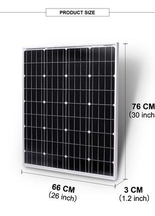 Солнечная панель,батарея 20,30,50ватт.Качество!