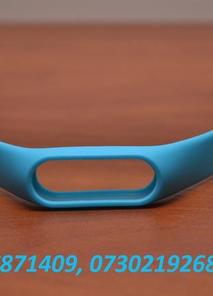 Голубой ремешок для фитнес трекера Xiaomi Mi Band 2