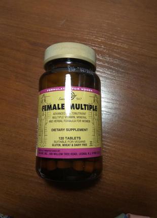 Solgar female multiple витамины для женщин солгар