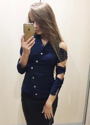 Распродажа - стильная коттоновая рубашка
