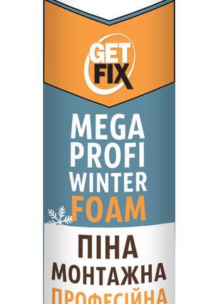 Пена монтажная Profi Mega Winter, 850 мл, 65л Getfix 12-478 | ...