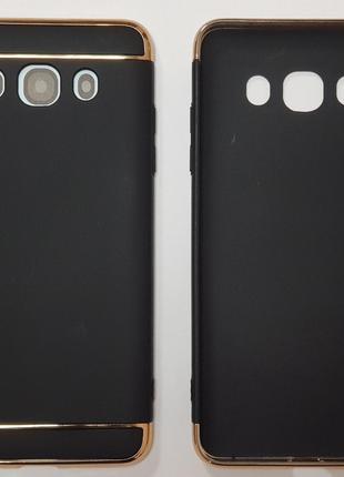 Чехол 360 для Samsung Galaxy J5 J510 2016 черный