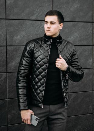 "Бомбер pobedov jacket ""gepard"" black зимний"