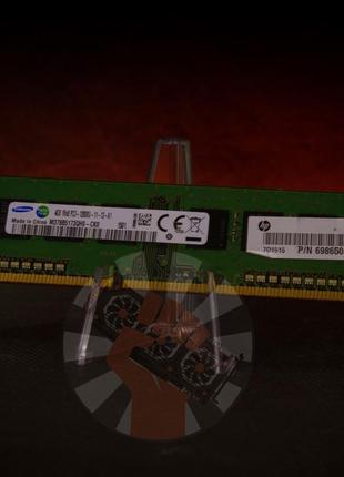 Оперативная память Samsung DDR3 4GB 1600MHz (M378B5173QH0-CK0)...