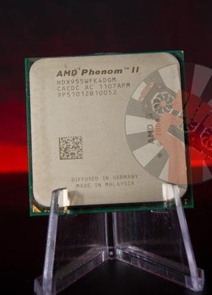 Процессор AMD Phenom II X4 955 Socket AM3 (HDZ955FBK4DGM) Б/У