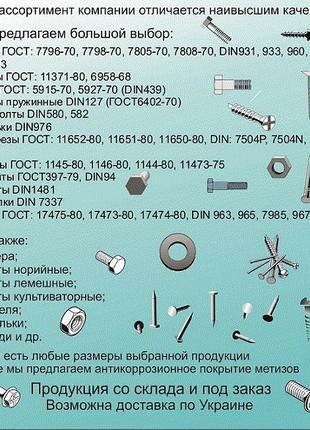 Метизы (болты, гайки, шайбы и тд) и электроды со склада
