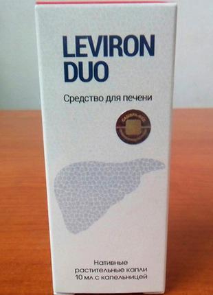 Средство для восстановления и очищения печени Leviron Duo (Лев...