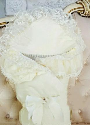 """Зимний роскошный конверт-одеяло """"Волшебство"""" для новорожденных..."""
