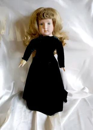 Кукла фарфоровая коллекционная винтаж