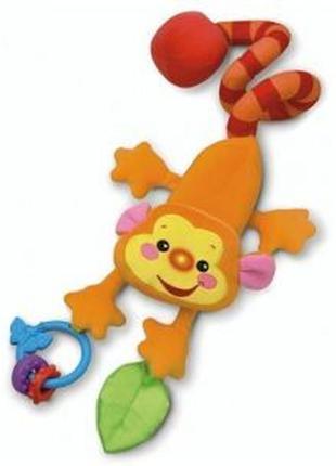 Детская игрушка-подвеска fisher price музыкальная обезьянка тр...