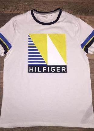 Tommy hilfiger мужская футболка.