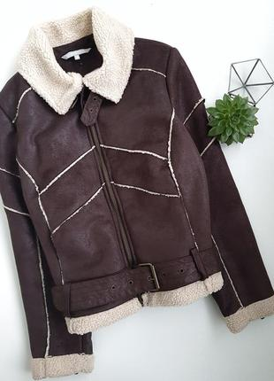 Дубленка авиатор куртка