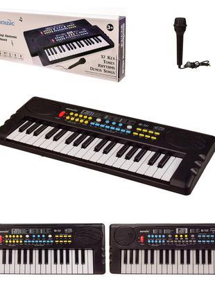 Детский синтезатор с микрофоном, 37 клавиш, Детские синтезаторы