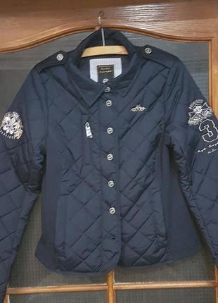 Стеганая демисезоная женская курточка
