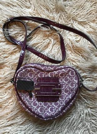 Новая  сумка  лилового цвета
