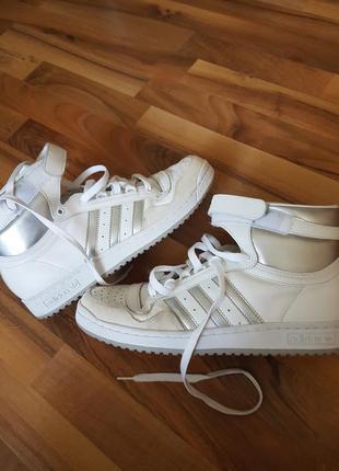 Кожаные кроссовки adidas concord