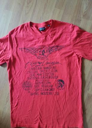 Фирменная футболка diesel