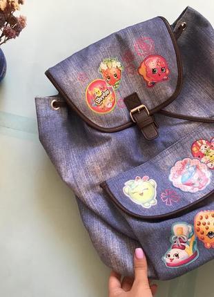 Детский рюкзак с шопкинсами